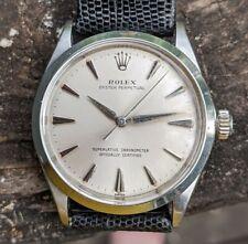 Vintage Gents Stainless Rolex Perpetual, Ref 1002, NICE!!