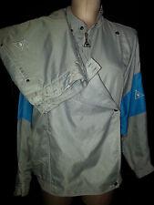 LE COQ SPORTIF Womens 2 Piece Jogging Track Suit Warm-Up Size Medium Blue Gray