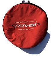Roval Wheel Bag- Red/White