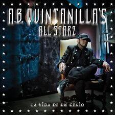 A.B Quintanilla III All Stars La Vida de un genio CD New Nuevo Sealed
