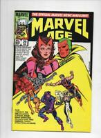 MARVEL AGE #29, VF, Scarlett Witch Vision, 1985 more in store