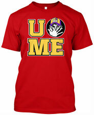 JOHN CENA RED T-Shirt Top. YOU CAN'T SEE ME Shirt. WWE WWF TShirt