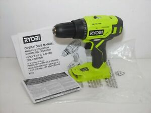 Genuine Ryobi One+ P215 18V Cordless Drill Driver Bare Unit (NEW)