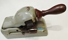 Vintage ABEC (Amer. Bus. Equip.Corp) Check Writer/Embosser/Protector by NIPPO