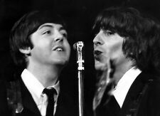 "The Beatles Paul McCartney George Harrison Photo Print 13x19"""