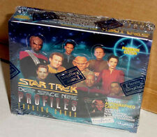 STAR TREK DEEP SPACE NINE PROFILES TRADING CARDS SEALED - LOOK FOR AUTOGRAPHS