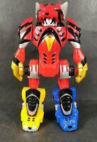 "Power Rangers Jungle Fury Mini Megazord Action Figure 2007 6.5"" Tall"