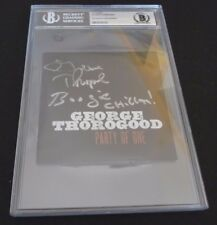 George Thorogood Autographed Signed CD Cover W/ Lyrics Beckett Certified
