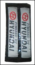 SEAT Belt Buddy Comforters HYUNDAI Black One Pair
