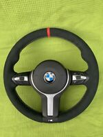 BMW F30 F31 F33 F36 F20 F21 M SPORT ALCANTARA STEERING WHEEL NEW LEATHER