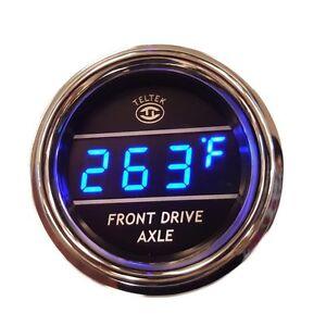 Teltek Front Axle Temperature Gauge for Kenworth 2006+