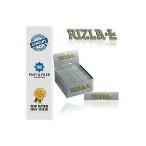 Rizla Silver King Size Ultra Thin Rolling Papers Slim Genuine Cigarette Smoking