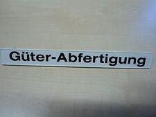 """Playmobil Ersatzteil 4305   """"Schild Güter-Abfertigung""""   gebraucht"""