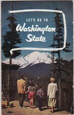 1950's Washington State Tourism Promotional  Booklet