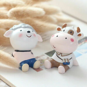 5CM Zakka Cute Animal Resin Model Decoration Collection Gift Kids Toy