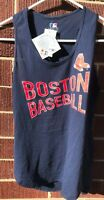 Women's Boston Red Sox Racerback Tank Top - Blue with Red writing - NWT