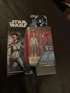 Star Wars Rogue One Princess Leia Organa Figure 3.75 Inch