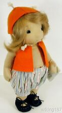 """KOSEN/Silke Germany NEW """"Beetle"""" Young Child Doll Plush Great Baby Shower Gift"""