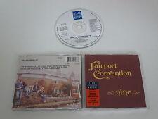 FAIRPORT CONVENTION/NINE(ISLAND MASTERS IMCD 154+512 756-2) CD ALBUM
