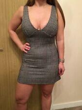 Check Topshop Dress - UK Size 10