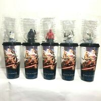 5Pcs Cup Topper 32oz.Starwars The Rise of Skywalker Movie 2019 Cinemas Theatres