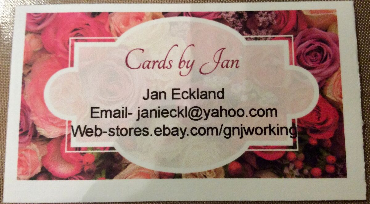 Cards by Jan