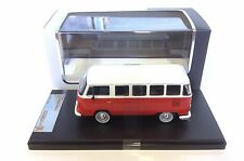 Volkswagen T2 Kombi 1976 - Red & White - PREMIUM X 1:43 DIECAST MODEL CAR PRD344