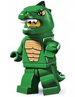 LEGO MINIFIGURE MINIFIG SERIES 5 LIZARD MAN 8805 GODZILLA GREEN DINO MAN CMF NEW
