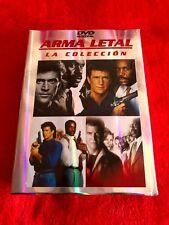 ARMA LETAL LA COLECCION DVD 4 PELICULAS MEL GIBSON