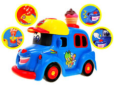 Education Toy Bubble Ice Cream Car Projection for kids Christmas gift present 3+