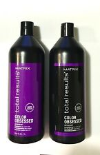 Matrix Total Results Color Obsessed Antioxidant Shampoo & Conditioner 33.8 fl oz