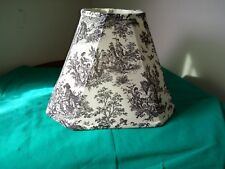 FRENCH COUNTRY Black Toile Lamp Shade