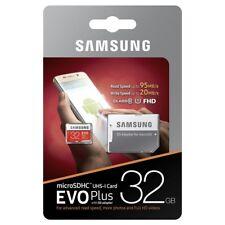 Tarjeta de Memoria 32 GB Samsung original EVO Plus microSDHC EVO+ 32GB