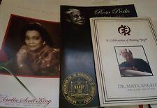 Dr. Maya Angelou, Coretta Scott King, Rosa Parks  Obituaries Plus Free Gift