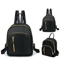 Women Girls Mini Small Backpack Faux Leather Rucksack School Bag Travel Handbag