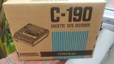 Superscope Marantz C-190 Audio Portable Cassette Recorder