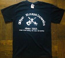 The Zambonis T-Shirt - Hockey - Punk Rock - Small - NHL - Bruins - Avalanche