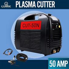 50A Lumik Plasma Cutter DC IGBT Inverter Welder Portable Gas/Air Cutting Display