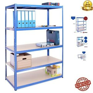 Garage Shelving Units: 180cm x 120cm x 60cm | Heavy Duty Racking Shelves for - 1