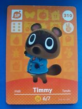 310 Timmy Animal Crossing Amiibo Card Single - Series 4 Near Mint US Version