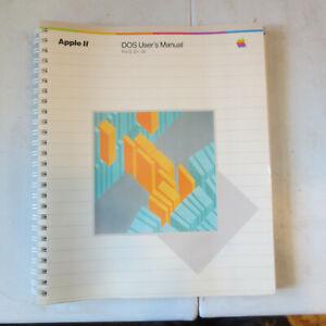 Apple II: DOS User's Manual for II, II+, IIe; A2L2002