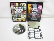 GRAND THEFT AUTO San Andreas 2nd PC Game Windows 2000/ XP ESRB US Ver 0812 pc