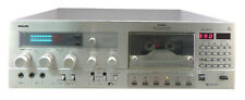 Philips N5846 Computerized Tape Deck / most expensive Philips deck /  SERVISED