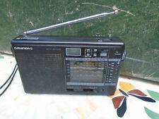 More details for vintage grundig 15 'yacht boy 206' wr world radio sw fm mw lw receiver