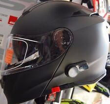CASCO MODULARE CON INTERFONO BLUETOOTH INTEGRATO BLINC A2  NERO OPACO DA XS A XL