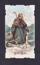 SAN ROCCO 03 SAINT ROCH - SANTINO HOLY CARD IMAGE PIEUSE - VANZONE 1920