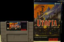Utopia: The Creation of a Nation (Super Nintendo Entertainment System, 1993)