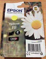 GENUINE EPSON T1804 Yellow cartridge vacuum sealed ORIGINAL 18 DAISY OEM ink