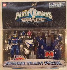 Power Rangers In Space Astro Team Pack With Blue Lightstar Ranger & Megaship