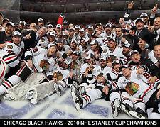 Chicago Black Hawks - 2010 Stanley Cup Champions 8x10 Team Photo